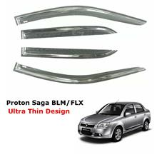 Air Press Window Door Visor Ultra Thin Slim Design Proton Saga BLM FL / FLX 4P