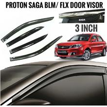 Proton Saga Blm Flx Door Visor Door Air Press 3 Inch