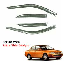 Air Press Window Door Visor Ultra Thin Slim Design For Proton Wira (4PCS/SET)