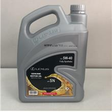 New Lexus 5W40 API-SN Fully Synthetic Engine Oil (4L) Toyota Motor Oil