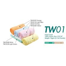 Hand Towel Cotton 100% 14InchX26Inch 70gsm 0.154lbs TW01XX
