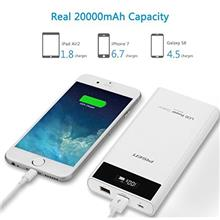 PowerBank Fast Charging 20000mAH Dual USB LCD 2.0 Port