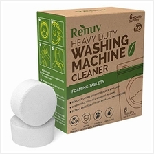 Renuv Washing Machine Cleaner For Front Load, Top Load or HE, Slow Dissolving
