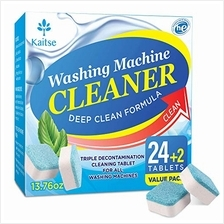 Kaitse Washing Machine Cleaner Tablets, Solid Washer Deep Cleaning Tablet, wit