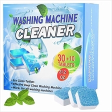 40 PCS Washing Machine Cleaner Tablets - Deep Cleaning Tablets for Front Load