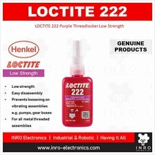 [100% original] LOCTITE 222 Purple Threadlocker Low Strength, 50ml