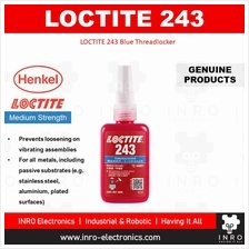 [100% original] LOCTITE 243 Blue Threadlocker Medium Strength, 50ml