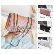 Elegant Gold Chain GG Sling Shoulder Handbag