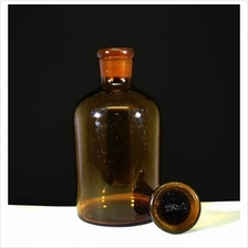 Glass Reagent Bottle (30ml - 1000ml) Amber Narrow Mouth