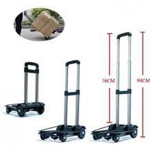 Upgraded Aluminium Trolley Multifunctional Fordable Trolley Shopping Cart