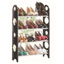 4 Tier 12 - Pair Stackable Shoe Rack