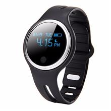 E07 Bluetooth Fitness Tracker Health Bracelet Sports Smart Band (Black)