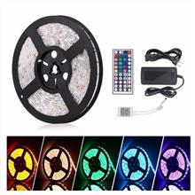5 Meter Flexible 5050 RGB LED Strip Waterproof SET With 12V 5A 60Watts Adapter