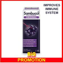 Sambucol Black Elderberry Original 120ml Syrup Improve Immune System
