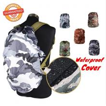 Outdoor Waterproof Backpack Bag Camouflage Anti Dust Rain Cover Rucksack