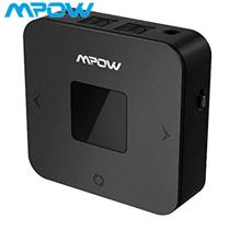 Mpow Bluetooth Transmitter Receiver 2 in 1 with aptX Wireless Audio Adpater Ho