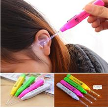 LED Earwax Curette Cleaner Quality Remover Healthy Safe Tool Light Ear Stick