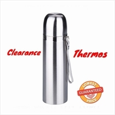Stainless Steel Vacuum Thermo 500ml Portable Insulated Travel Flask Water