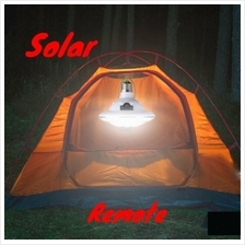 22 LED Outdoor Indoor Solar Lamp Hooking Camp Garden Lighting Remote