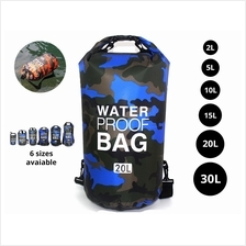 Outdoor Camouflage Waterproof Bag Polyester Shoulder Water Sports Bucket Bag S