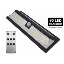 90 LED Solar Light Motion Sensor Waterproof Security 3 Modes Wide Lighting Are