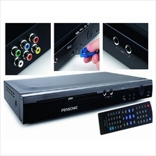 Pensonic DVD VCD CD MP3 MP4 Player with USB and Karaoke Function