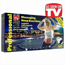 Massaging Slimming Hula Hoop Waist Exercise Fitness Magnet AB Workout
