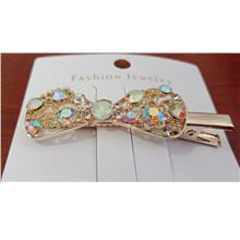 Colourful blinking hair clip