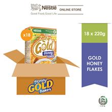 Nestle Gold Honey Flakes 220g x 18 box (Carton))
