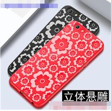 OPPO F1S A59 A57 3D Flower ShakeProof Silicone Back Case Cover Casing