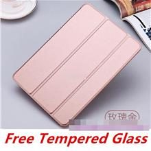 Apple iPad Pro 10.5 2017 Smart Case Cover Casing +Free Tempered Glass