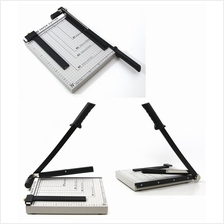 Paper Cutter 10x12 Metal Steel Base With Pressing Bar