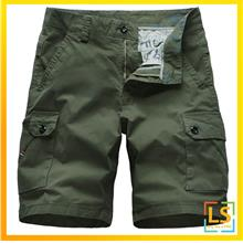 Men Multi Pockets Smart and Casual Cargo Short Pants