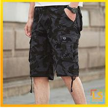 Multi pockets Men Knee Length Camouflage Short Pants