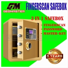 GM FINGERPRINT BIOMETRIC SAFEBOX / SAFETY BOX / SAFES / PETI BESI / SECURITY B