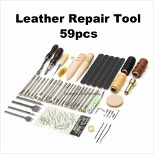 59pcs DIY Leather Hand Sewing Stitching Craft Repair Tool Tools 2629.1