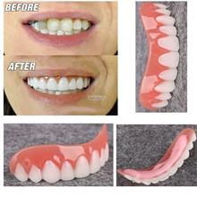 Perfect Smile-Silicone Instant Fake Teeth-Flex Cosmetic-Denture Paste