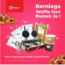 PACKAGE FRESCO WAFFLE DOUBLE MACHINE ELECTRIC STREETFOOD