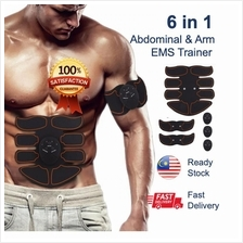 [READY STOCK BEST SELLER] 6 in 1 EMS Core Abdominal Arm Trainers Easy Workout