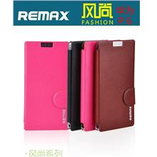 REMAX Huawei P6 PU Leather Fashion Flip Case Cover Free Gifts