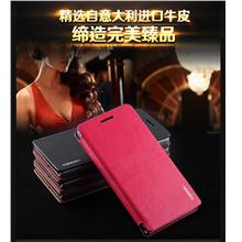 TORRAS Huawei Ascend P6 Flip Cow Leather Case Cover