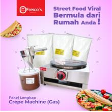 Crepe Machine Gas Package