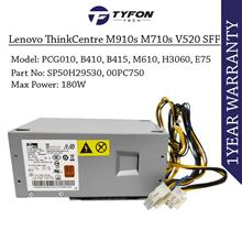 Lenovo ThinkCentre M910s M710s V520 Power Supply PSU 180W PCG010