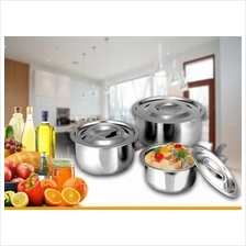 3 in 1 stainless steel cookware cooking pot stock pot container