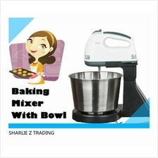 Baking BAKEWARE POWDER EGG CAKE FLOUR Mixer STIRRER ELECTRIC MACHINE