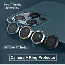 Apple iPhone 12 12 Mini / 12 Pro 12 Pro Max Ring Camera Tempered Glass