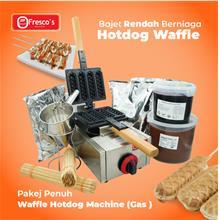 Waffle Hotdog Gas Machine Package