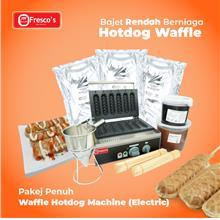 Waffle Hotdog Electric Machine Package