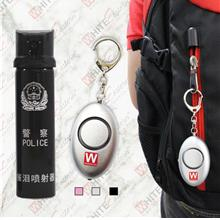 [Free Shipping] Police Pepper Spray(110ml) + Personal Alarm Package