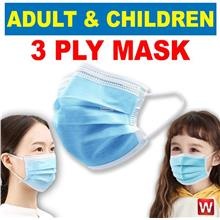 3 Ply Non-Surgical Adult & Children & Kid Respiratory Mask 口罩